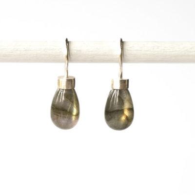 """Ohrhänger aus Sterlingsilber mit Edelsteinen aus der Kollektion """"Klassisch, klar, kunterbunt"""""""